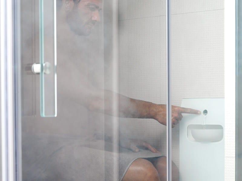 Puertas Para Baño Turco:Generador de vapor para baño turco AQUASTEAM by EFFEGIBI diseño