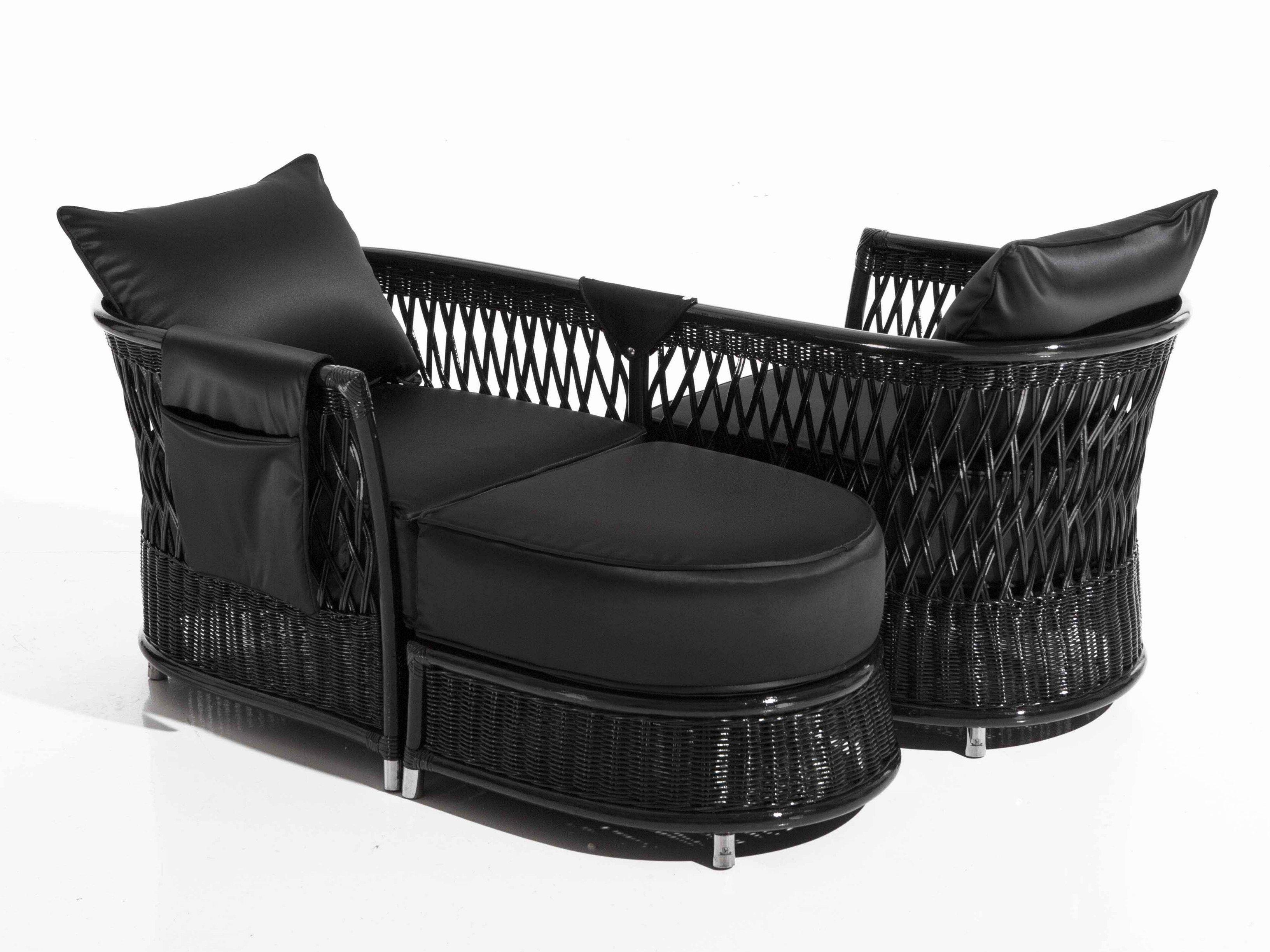 Vega | Garden Armchair By Samuele Mazza By Dfn Design Samuele Mazza Outdoor Lounge Vis A Vis