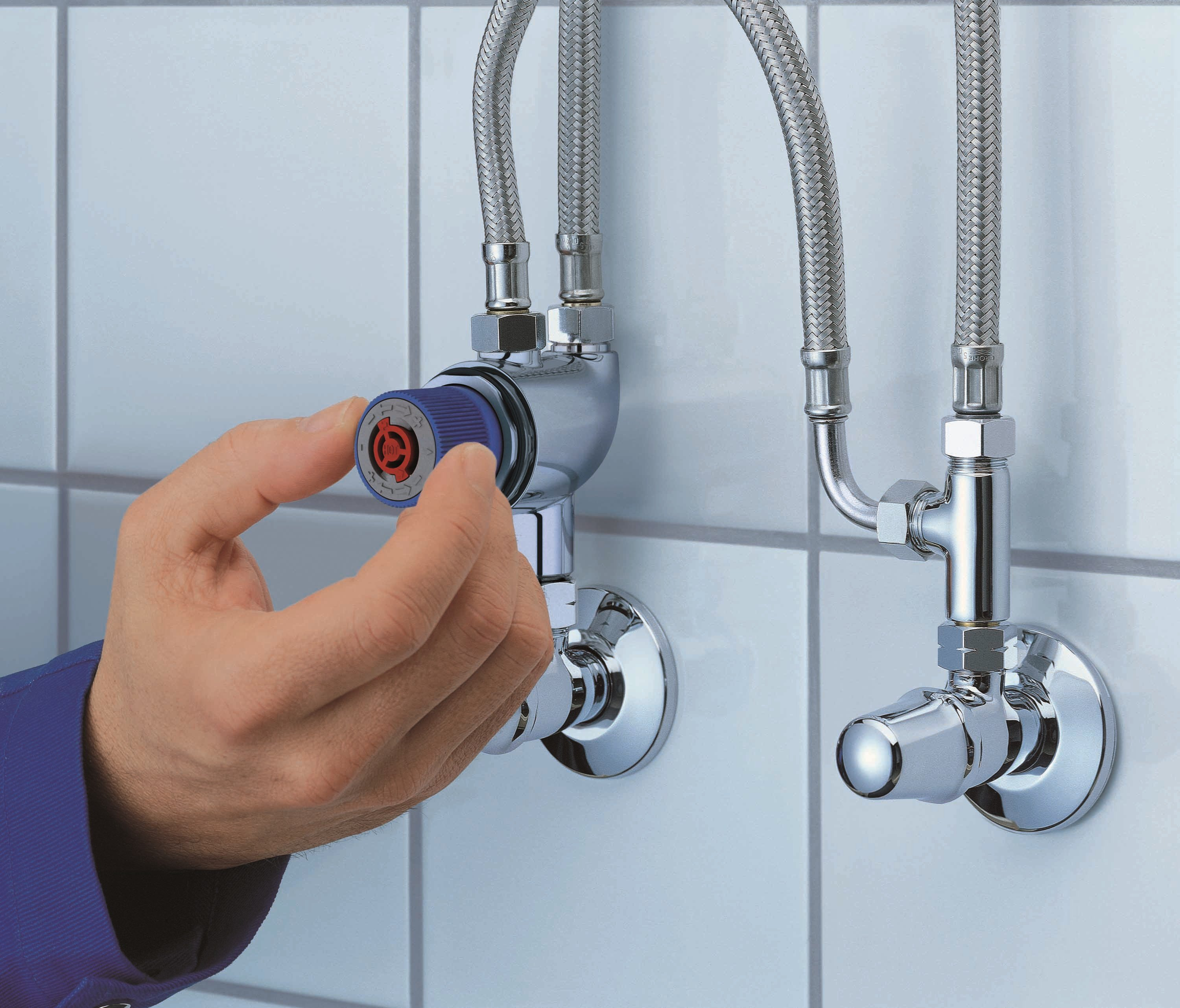 Thermostatic Scalding Protection GROHTHERM MICRO By Grohe