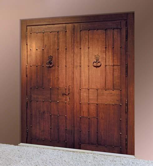 Puerta de entrada de roble para exterior colecci n puertas - Puerta de roble ...
