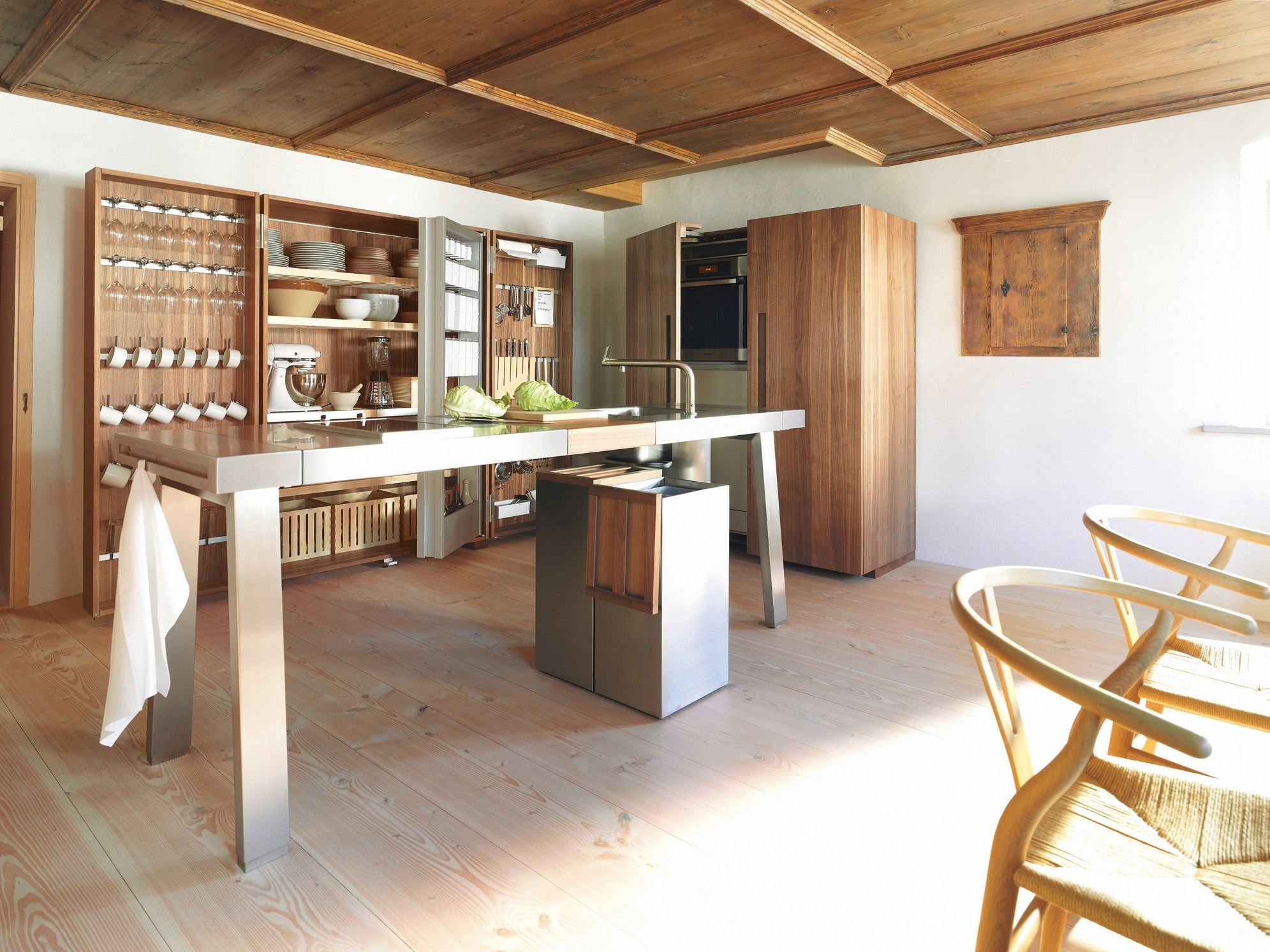 einbauk che b2 by bulthaup design eoos. Black Bedroom Furniture Sets. Home Design Ideas