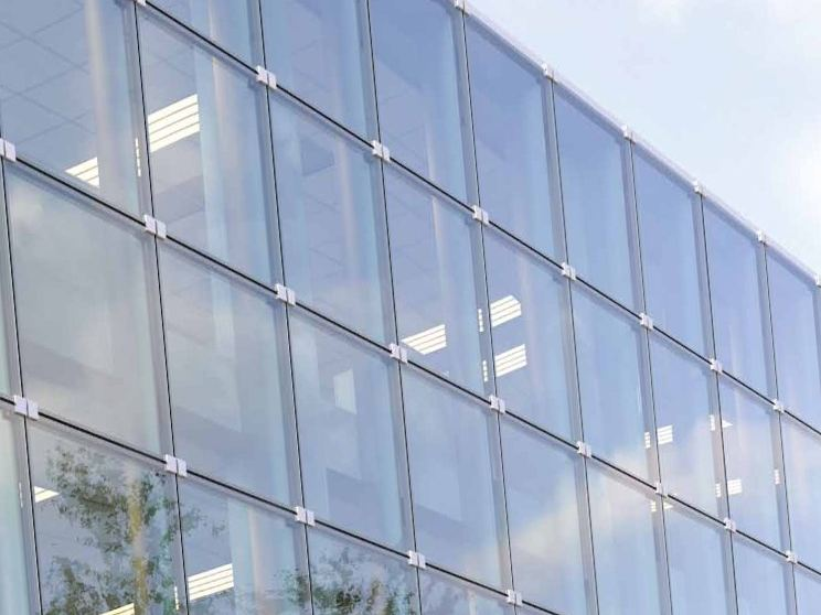 Muro cortina de vidrio fachadas de cristal by sap sistemi - Fachadas de cristal ...