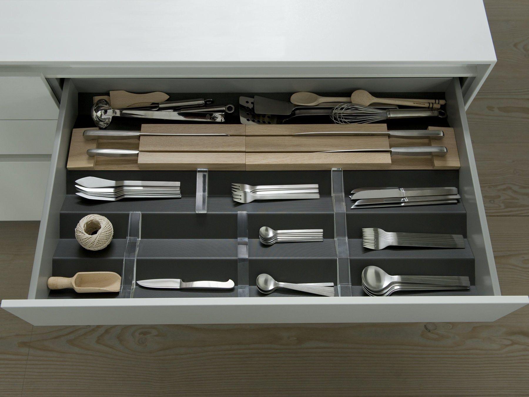 B3 interior system divisorio per cassetti in vetro by bulthaup - Divisori per cassetti cucina ...
