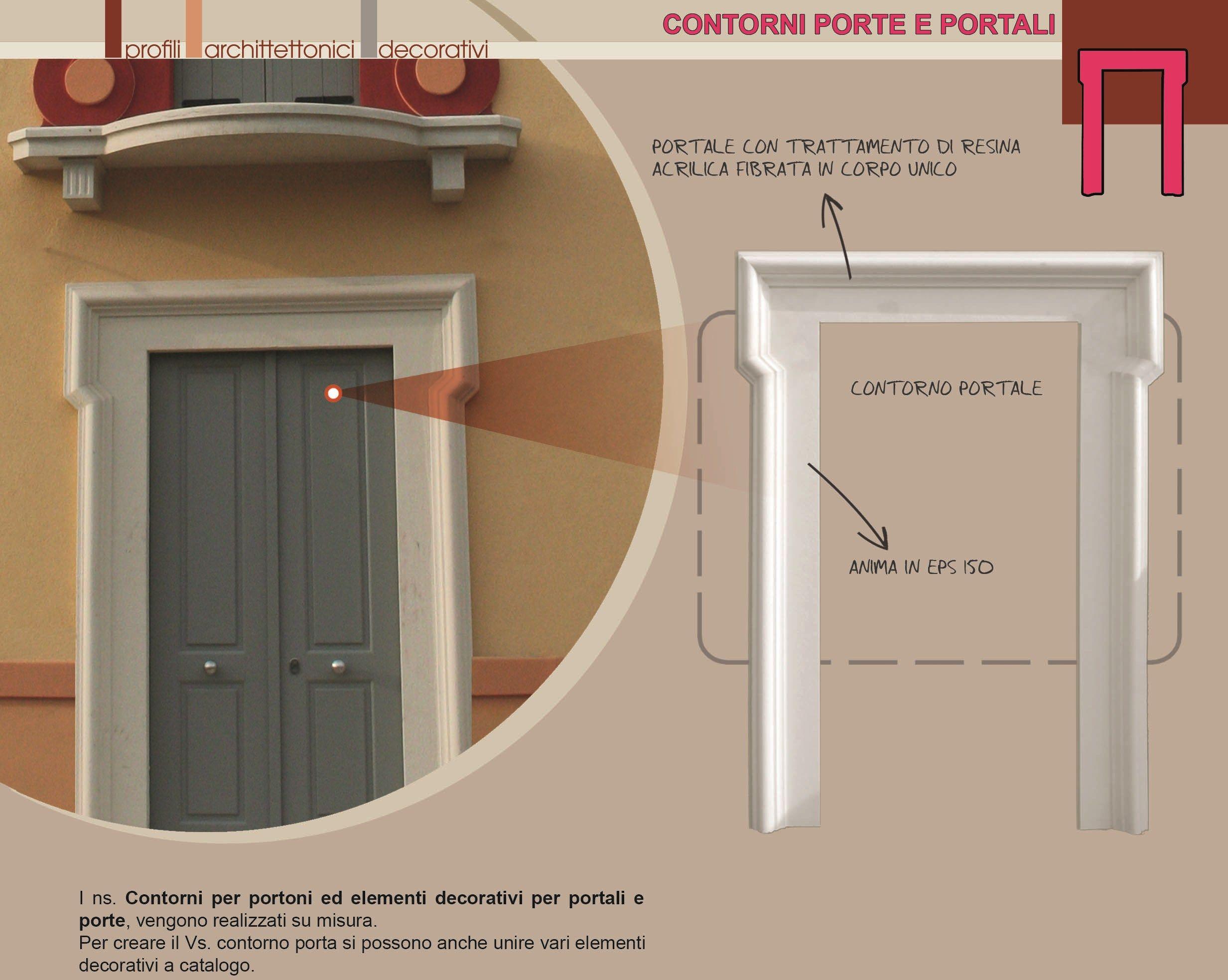 Cadre de porte vo t e by eleni for Largeur cadre de porte