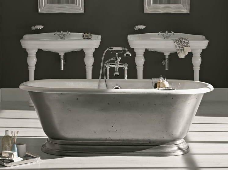 Vasca da bagno centro stanza shabby serie vasche da bagno by bleu provence - Vasche da bagno retro ...