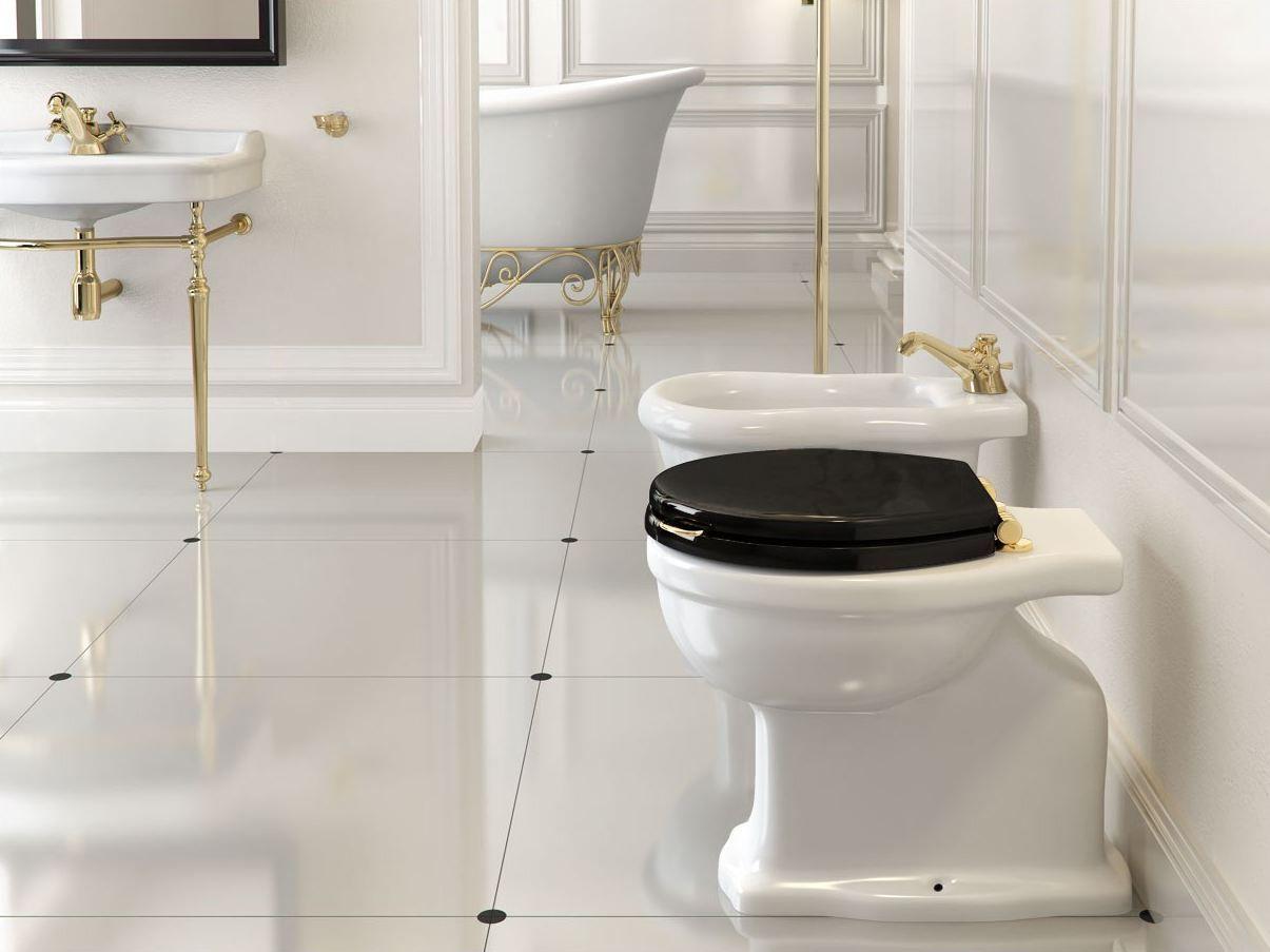 Arredo bagno completo ottocento collezione retro by bleu - Arredo bagno completo ...