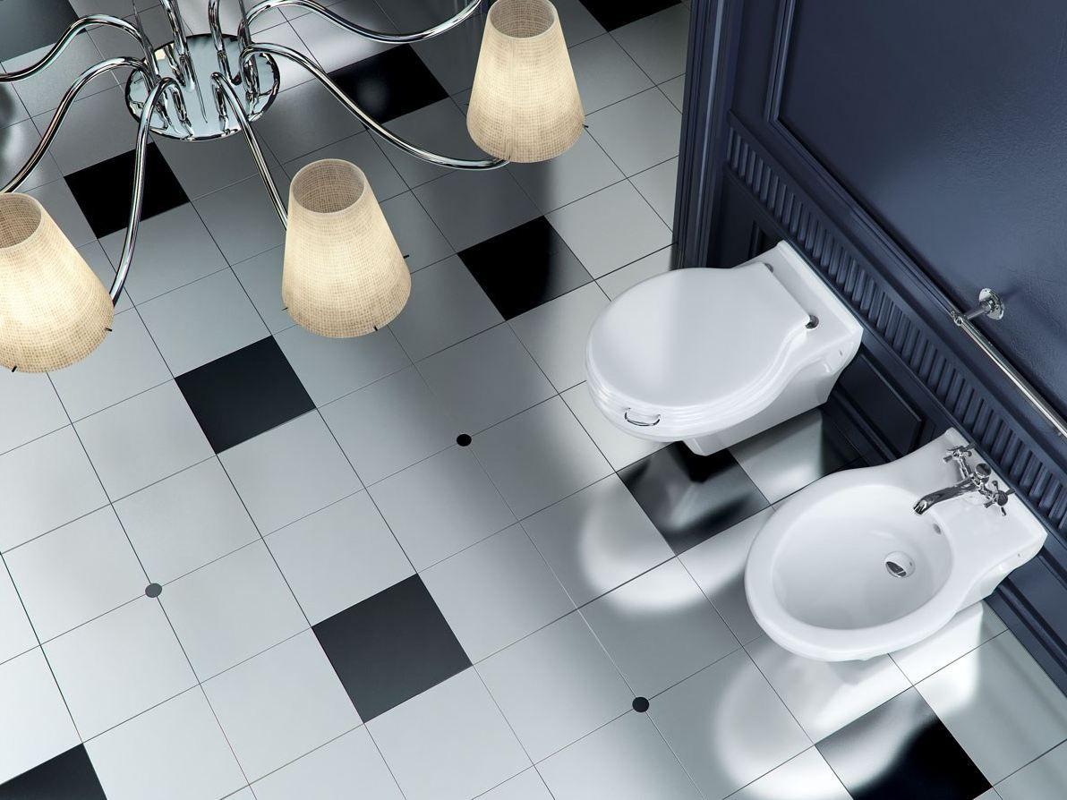 Salle de bains compl te novecento retro style collection for Tarif salle de bain complete