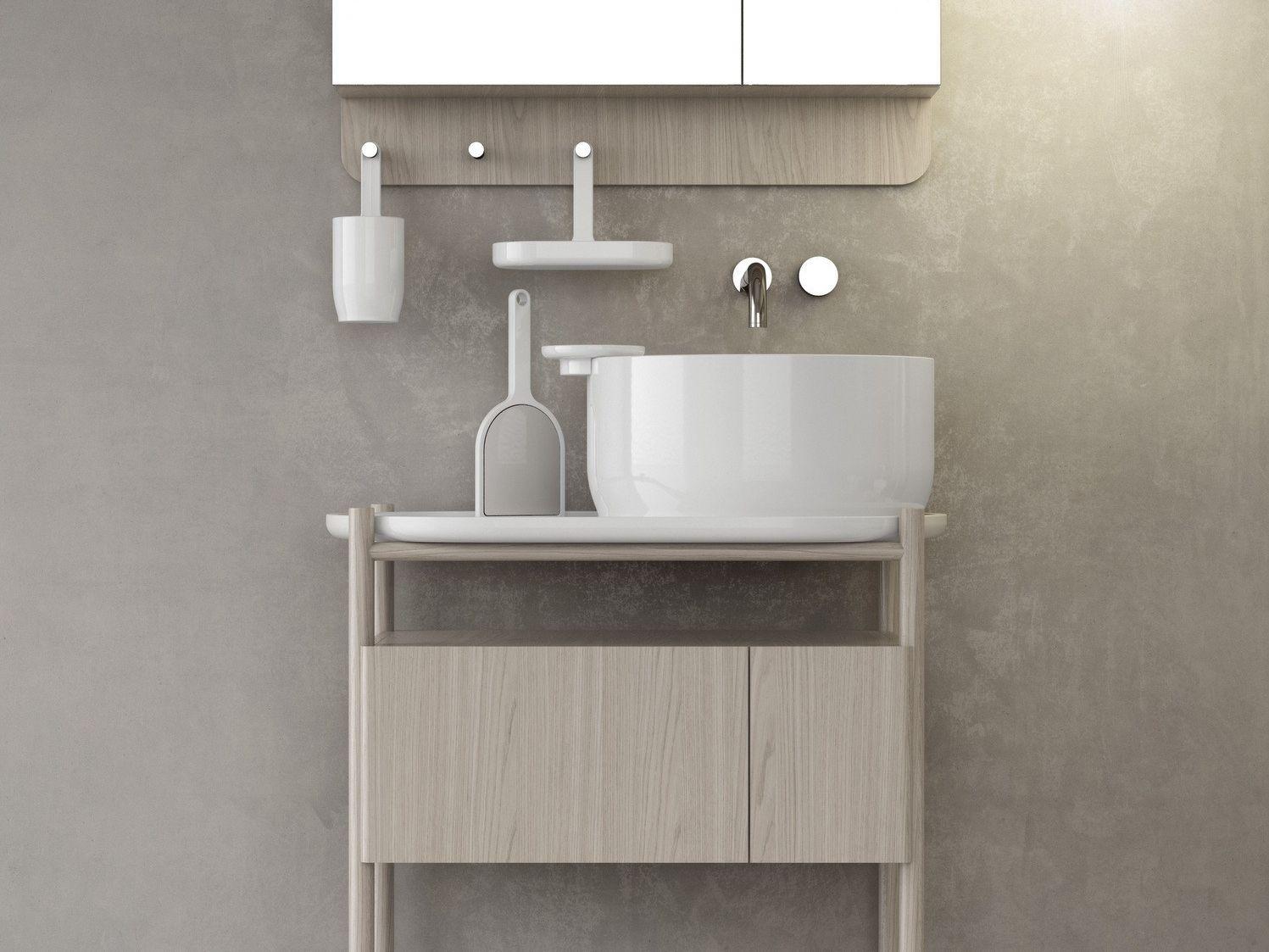 Ukiyo e lavabo sobre encimera by olympia ceramica - Lavabos redondos sobre encimera ...