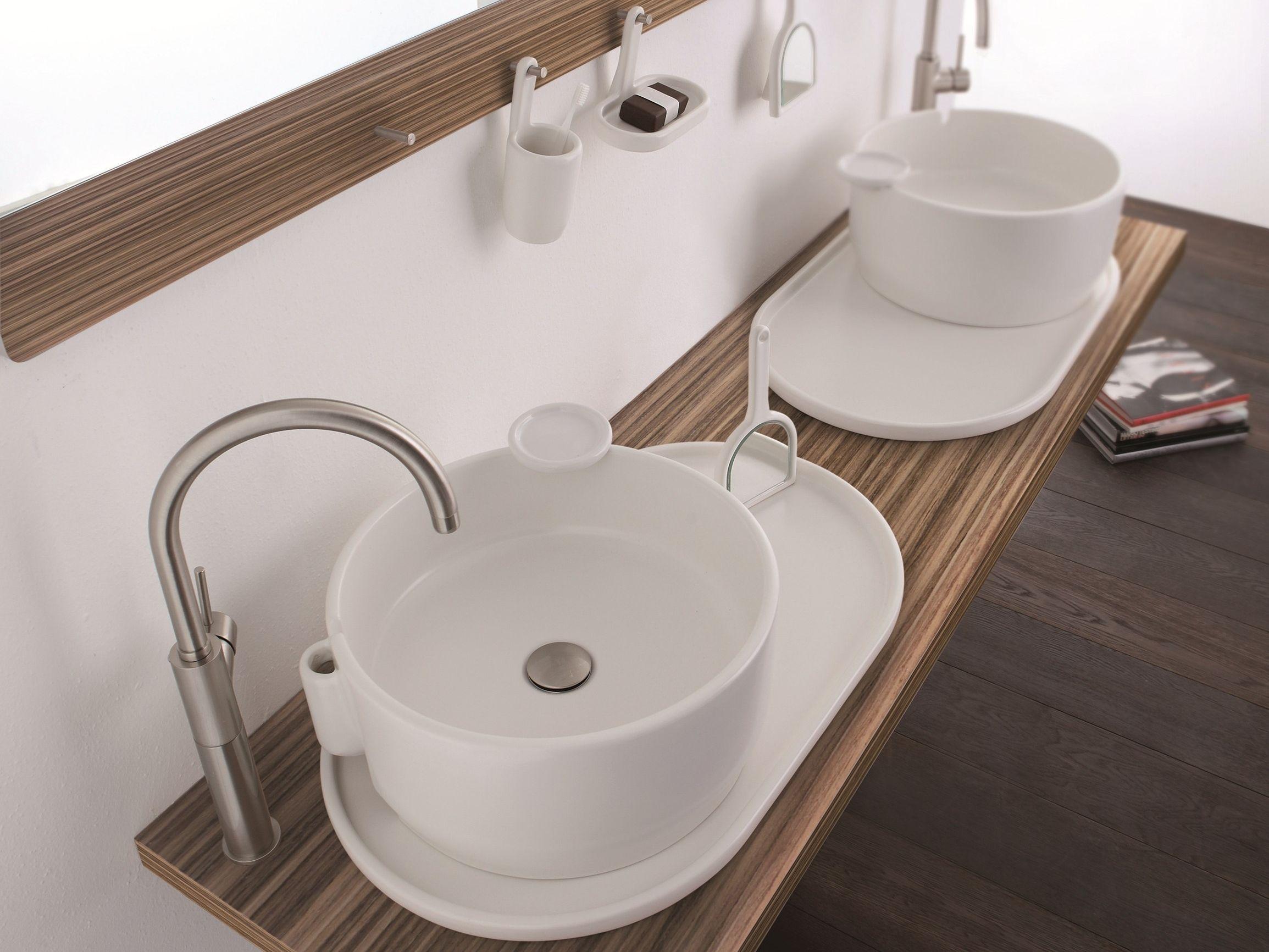 ukiyo e aufsatzwaschbecken by olympia ceramica. Black Bedroom Furniture Sets. Home Design Ideas