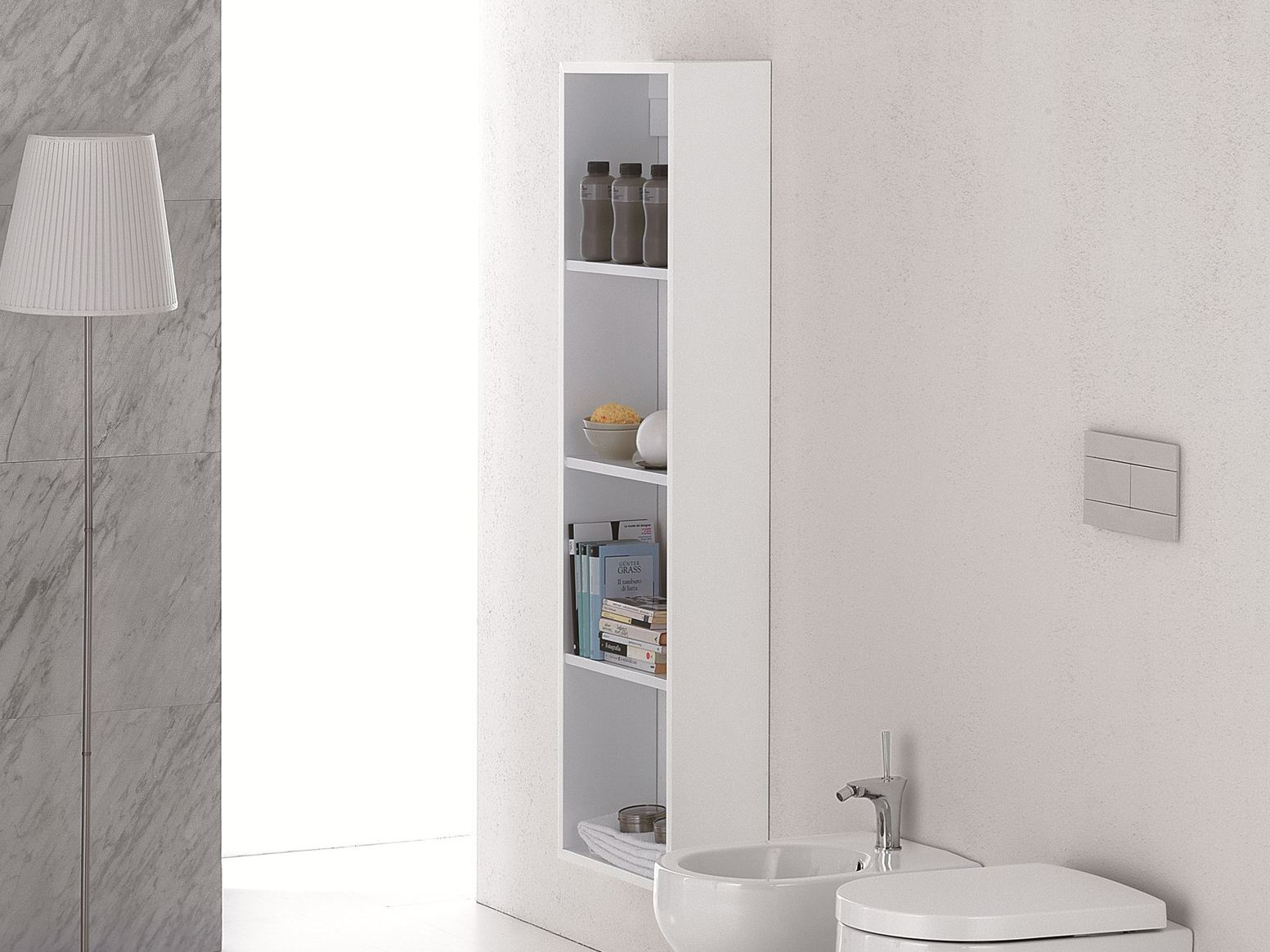 Clear mobile bagno a colonna by olympia ceramica for Mobile bagno colonna