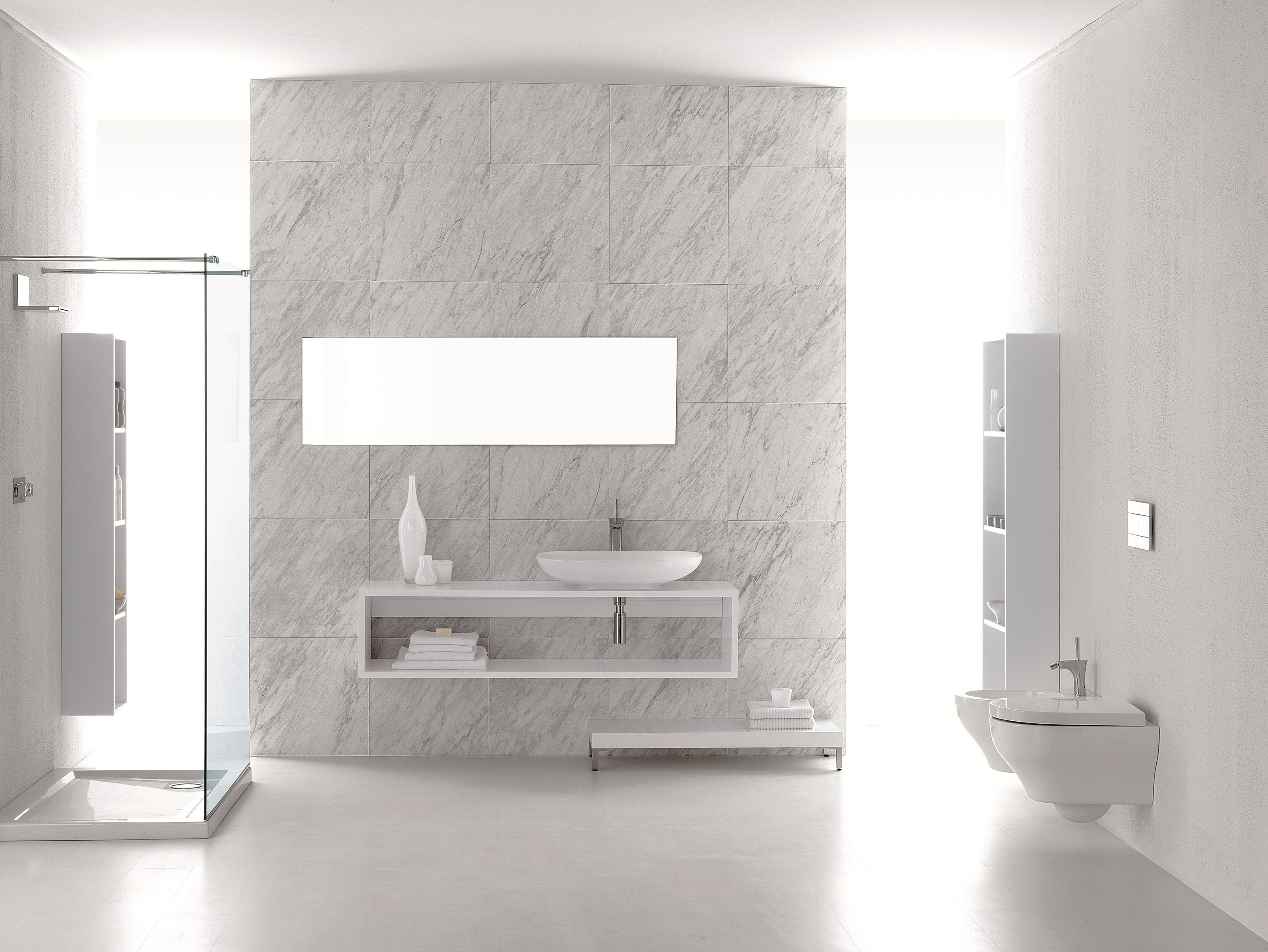 Clear mobile bagno a colonna by olympia ceramica - Mobili bagno black friday ...