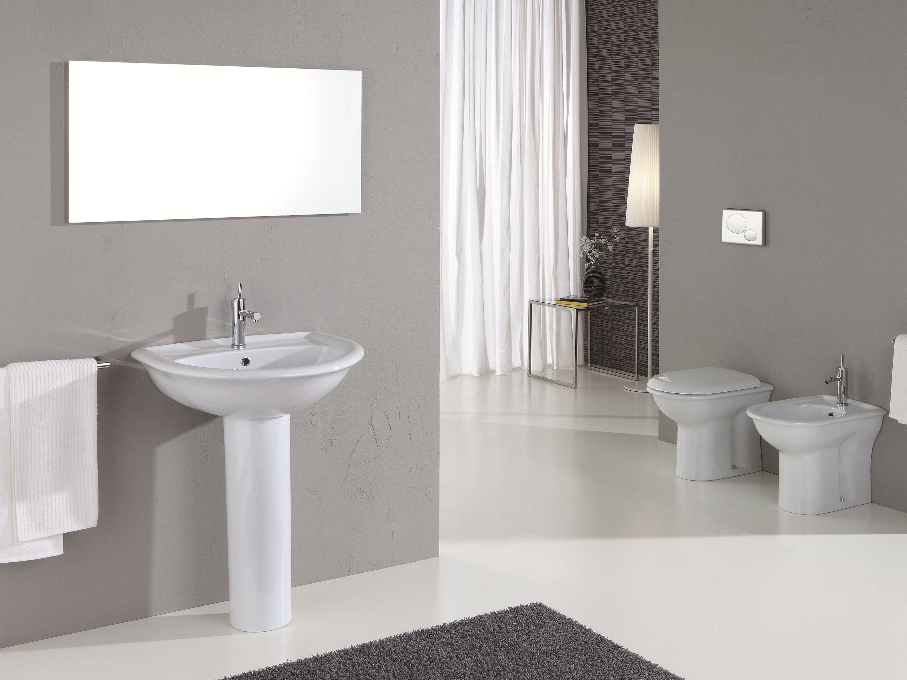 federica colonne pour lavabo by olympia ceramica. Black Bedroom Furniture Sets. Home Design Ideas
