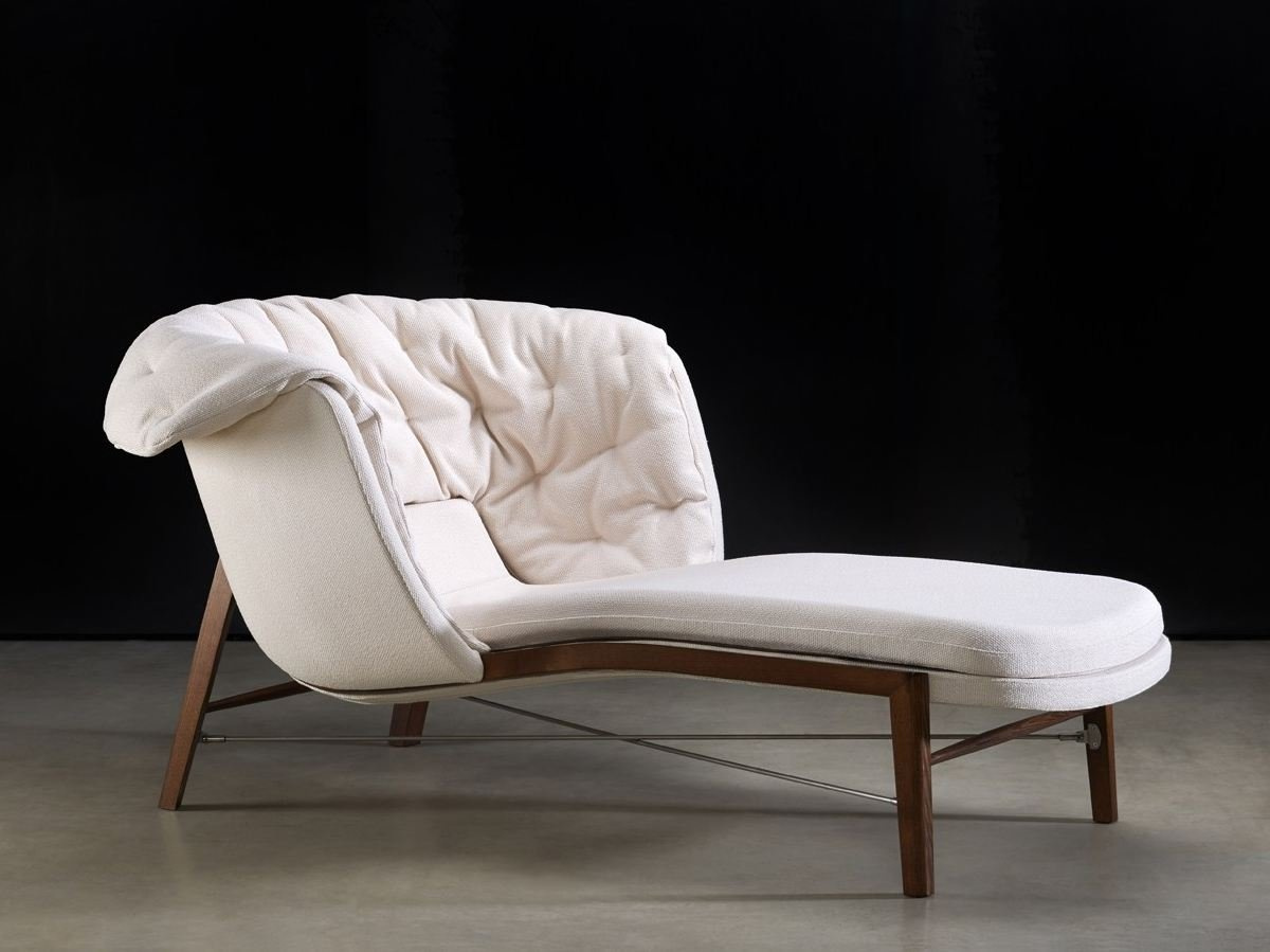 Cleo chaise longue by rossin design archirivolto for Chaise tissu design