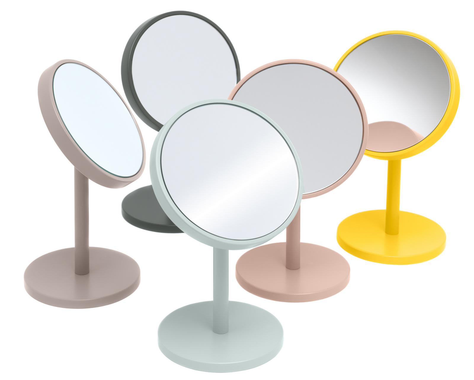 Miroir grossissant rond poser beauty by sch nbuch design for Miroir grossissant