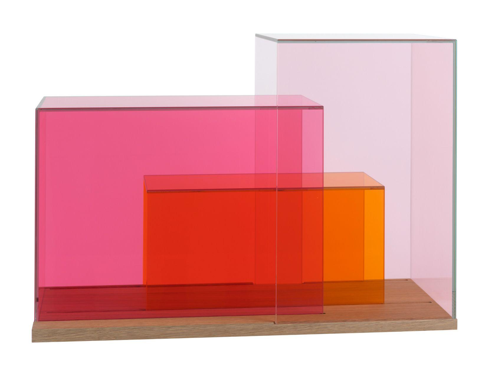 Meuble de rangement en verre show case by sch nbuch - Meuble rangement verre ...