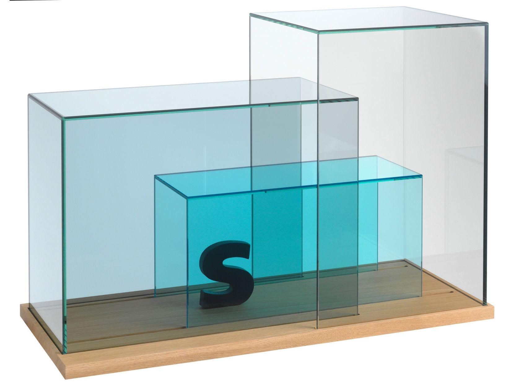 Meuble de rangement en verre show case by sch nbuch design nikolaus kayser b ttcher henssler - Meuble rangement verre ...