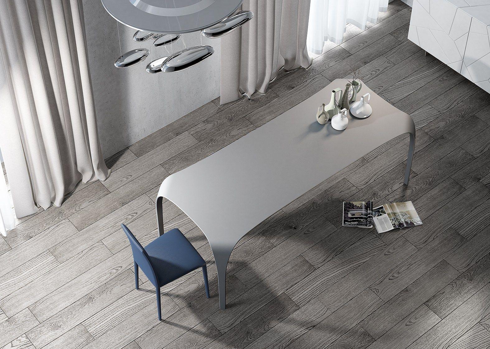 Tavolo da cucina rettangolare unico by riflessi for Riflessi mobili catalogo