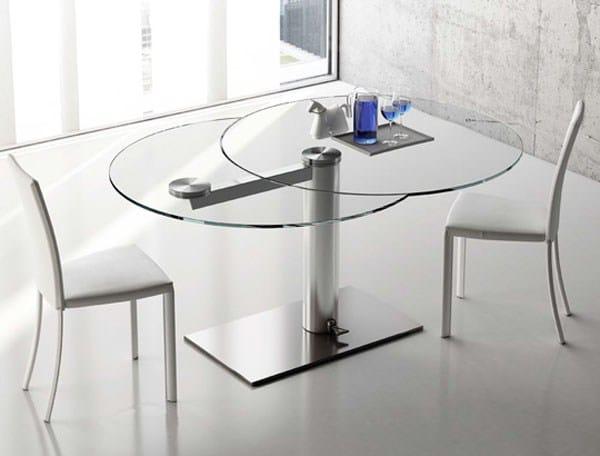 Mesas redondas de cocina extensibles latest mesas de for Mesas de cocina redondas extensibles