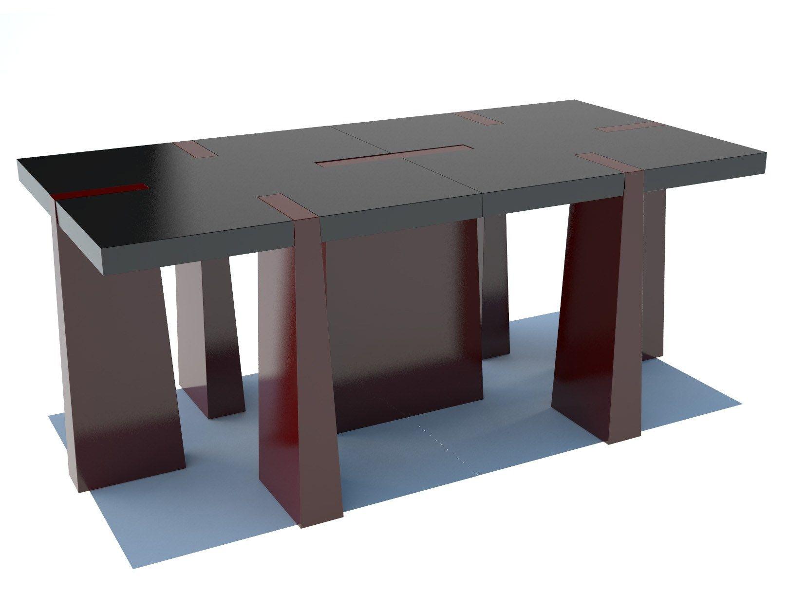 Modular coffee table for living room CASTRUM  Modular coffee table ...