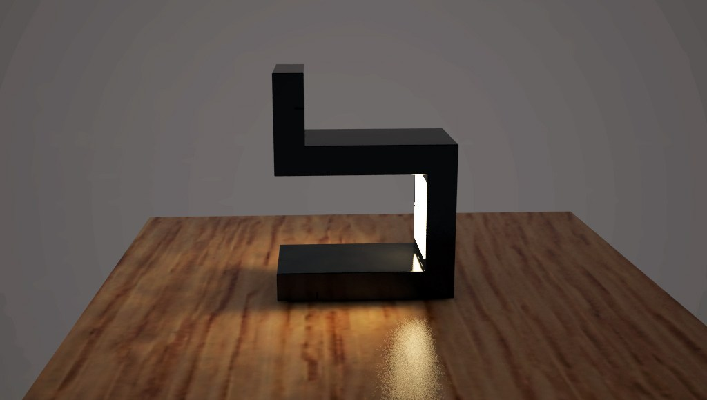 Orthos lampada da tavolo by zuri design - Lampada da tavolo a led ...