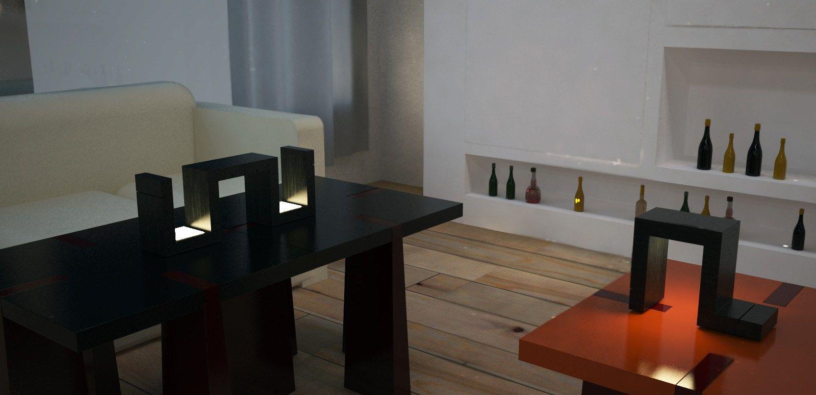 Lampada da tavolo a led orthos lampada da tavolo - Lampada da tavolo design ...