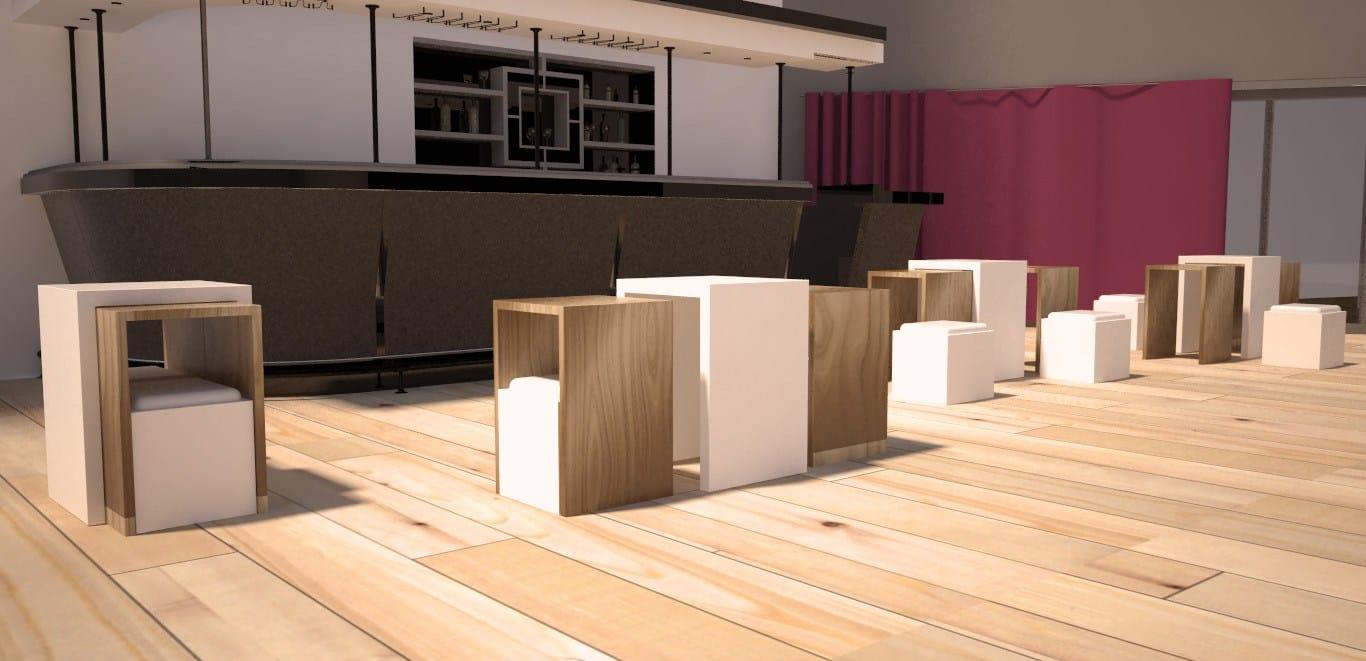 Matrioska Modular Coffee Table Matrioska Series By Zuri Design