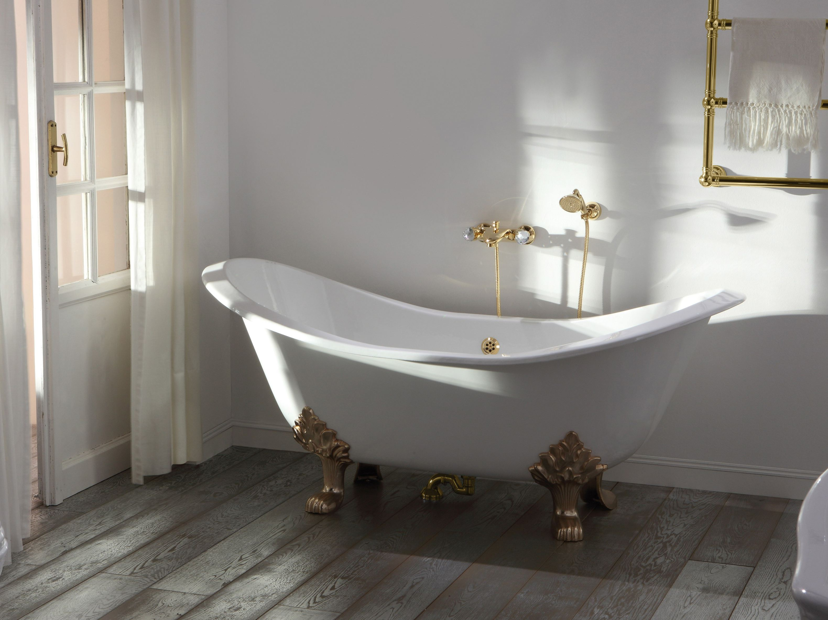 Impero style vasca da bagno by giulini g rubinetteria - Vasche da bagno retro ...