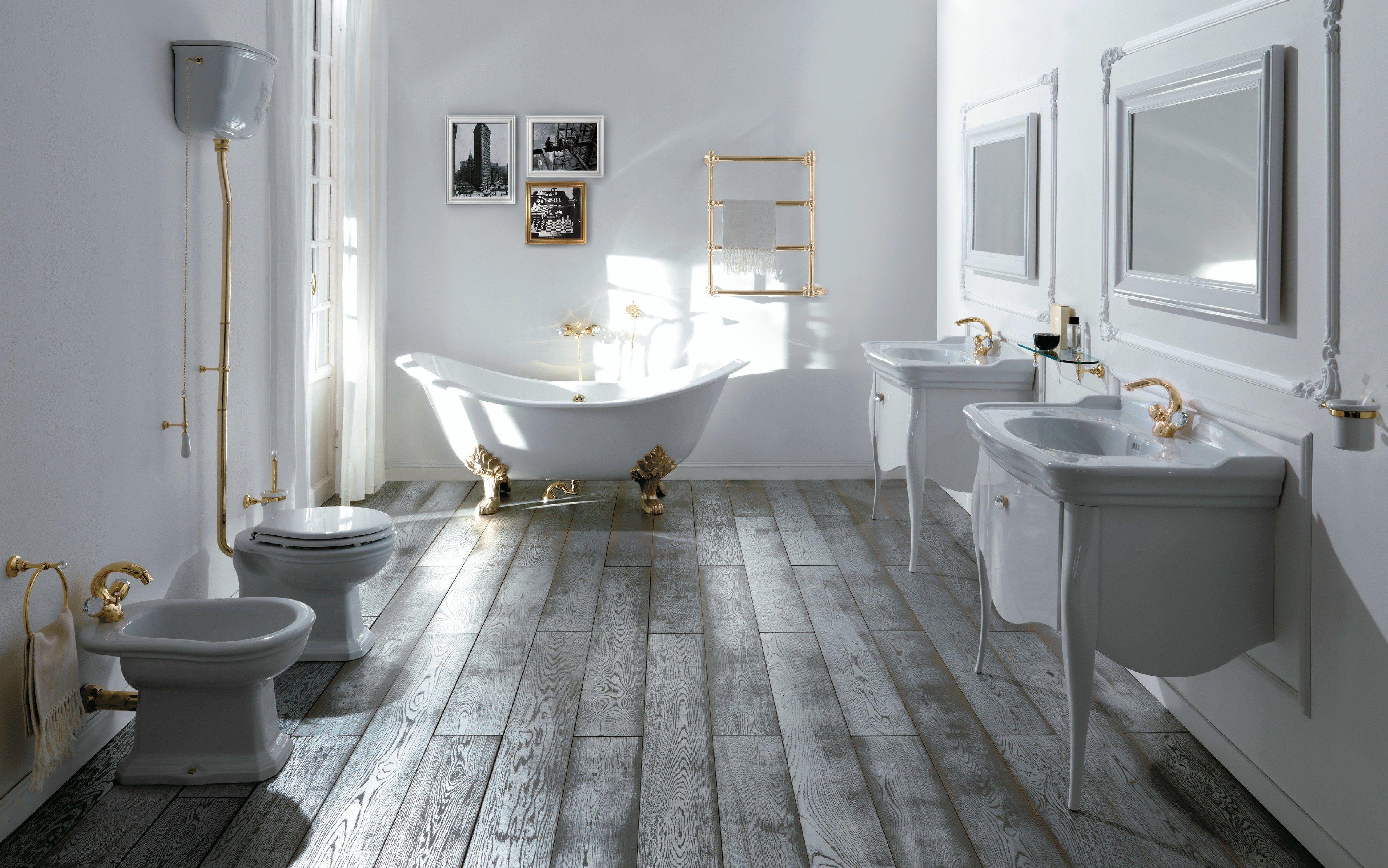 Impero style vasca da bagno by giulini g rubinetteria - Mobili da bagno in stile ...