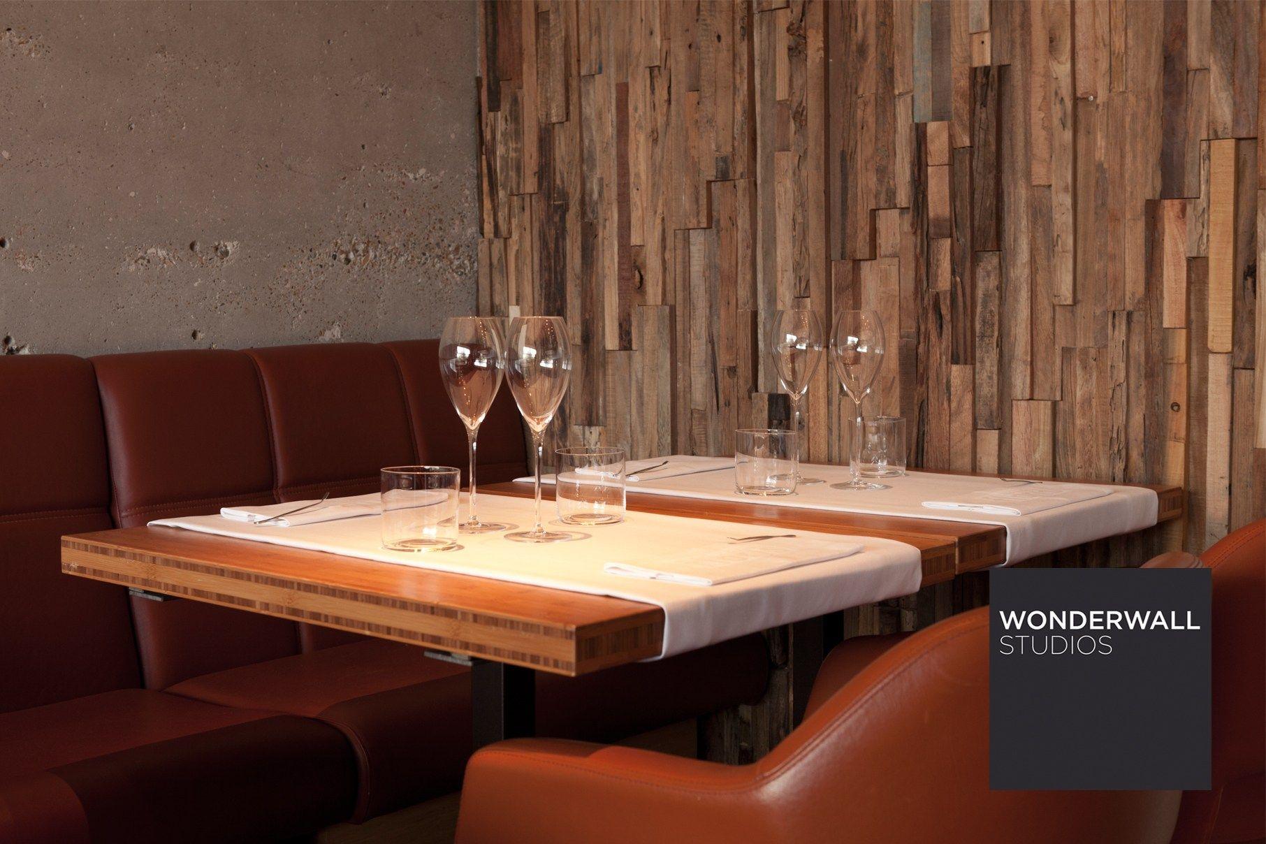 Revestimiento de pared 3d de madera para interiores wheels - Revestimientos de interiores ...