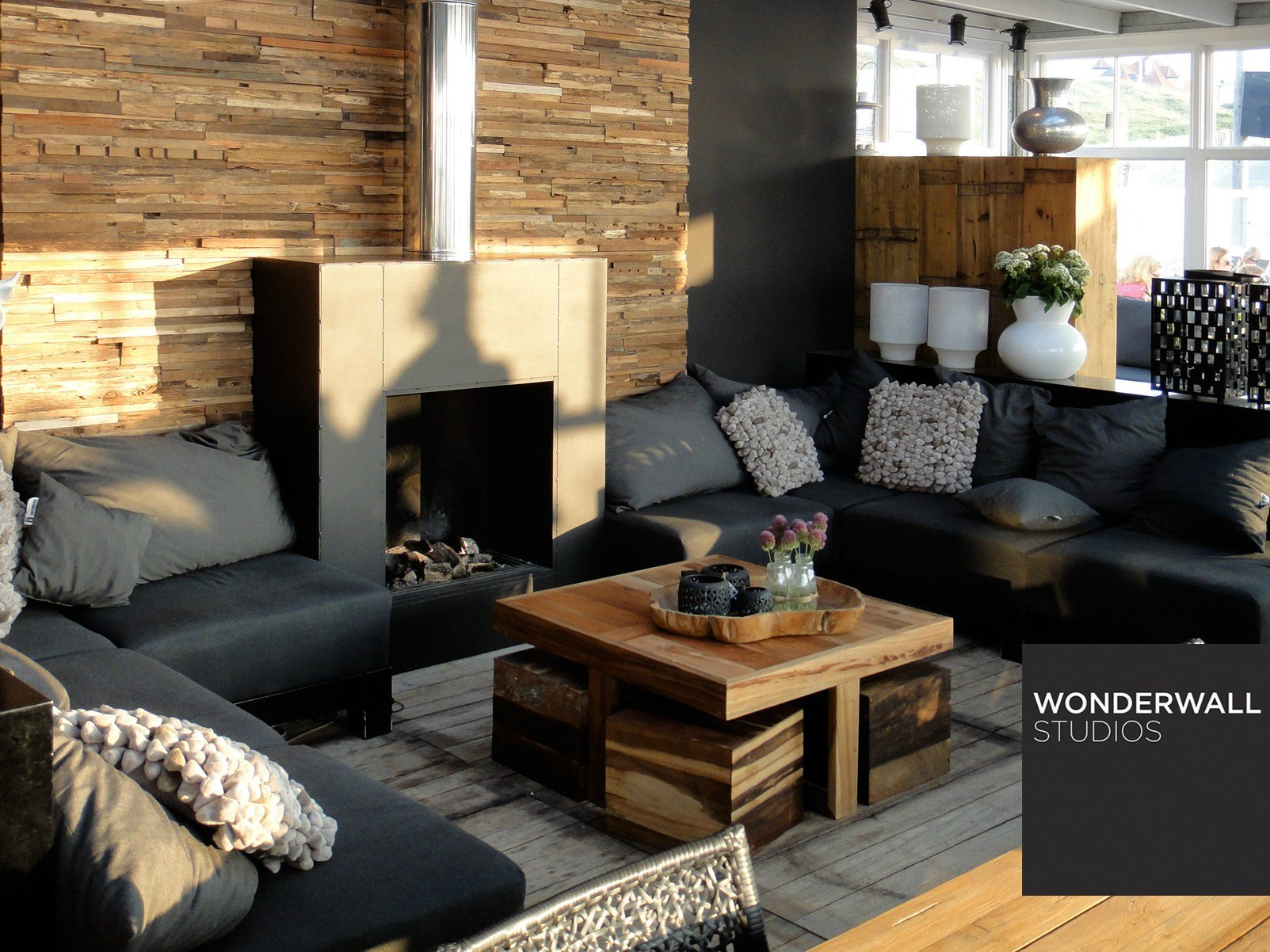 rev tement mural 3d en bois pour int rieur wheels by. Black Bedroom Furniture Sets. Home Design Ideas