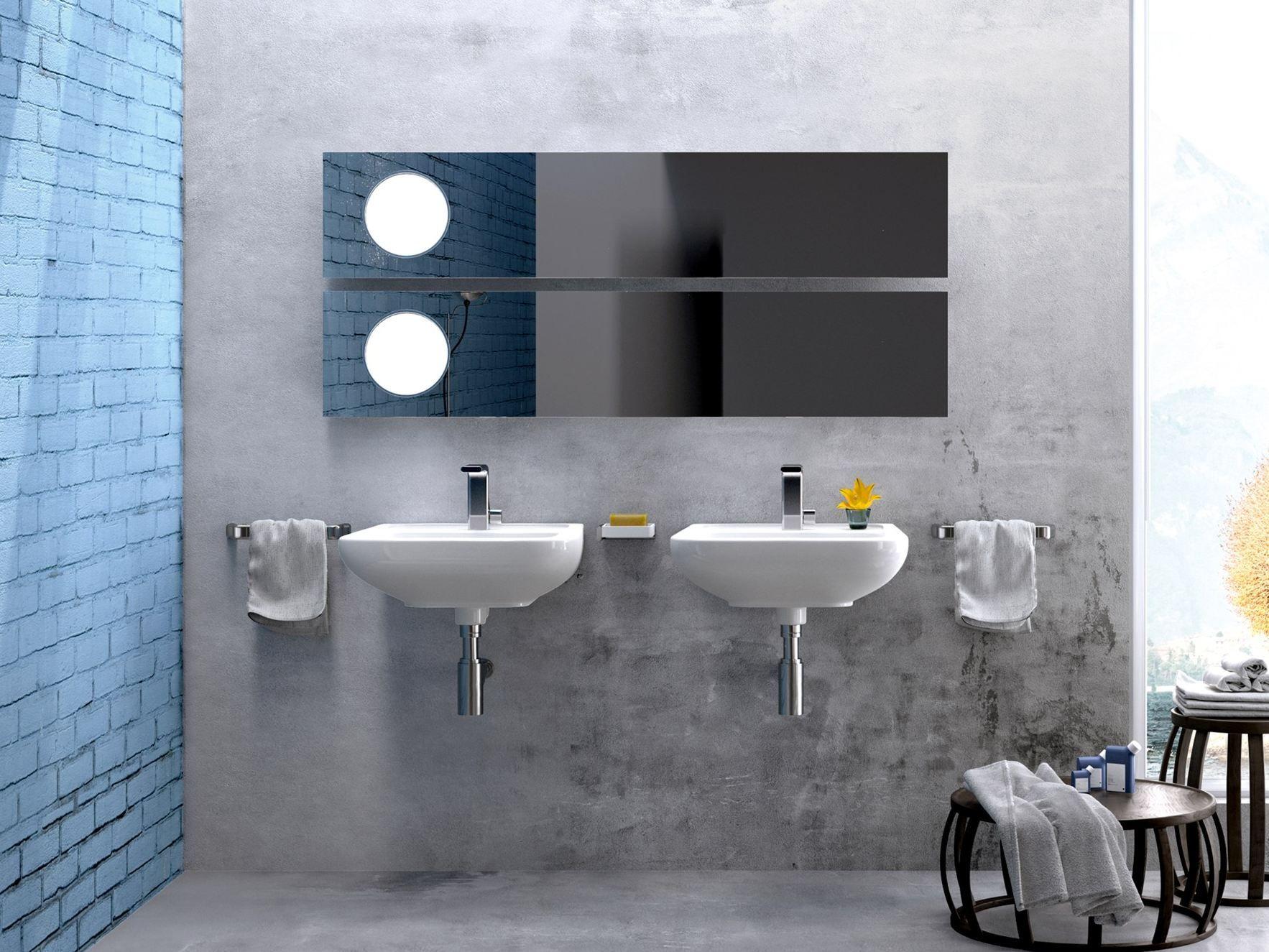 Como wall mounted washbasin by ceramica flaminia design rodolfo dordoni - Arredo bagno civita castellana ...
