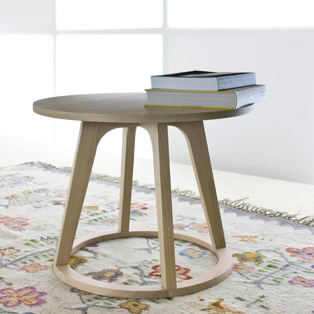 Round Coffee Table Oak: OAK COFFEE TABLE BY CONTEMPO