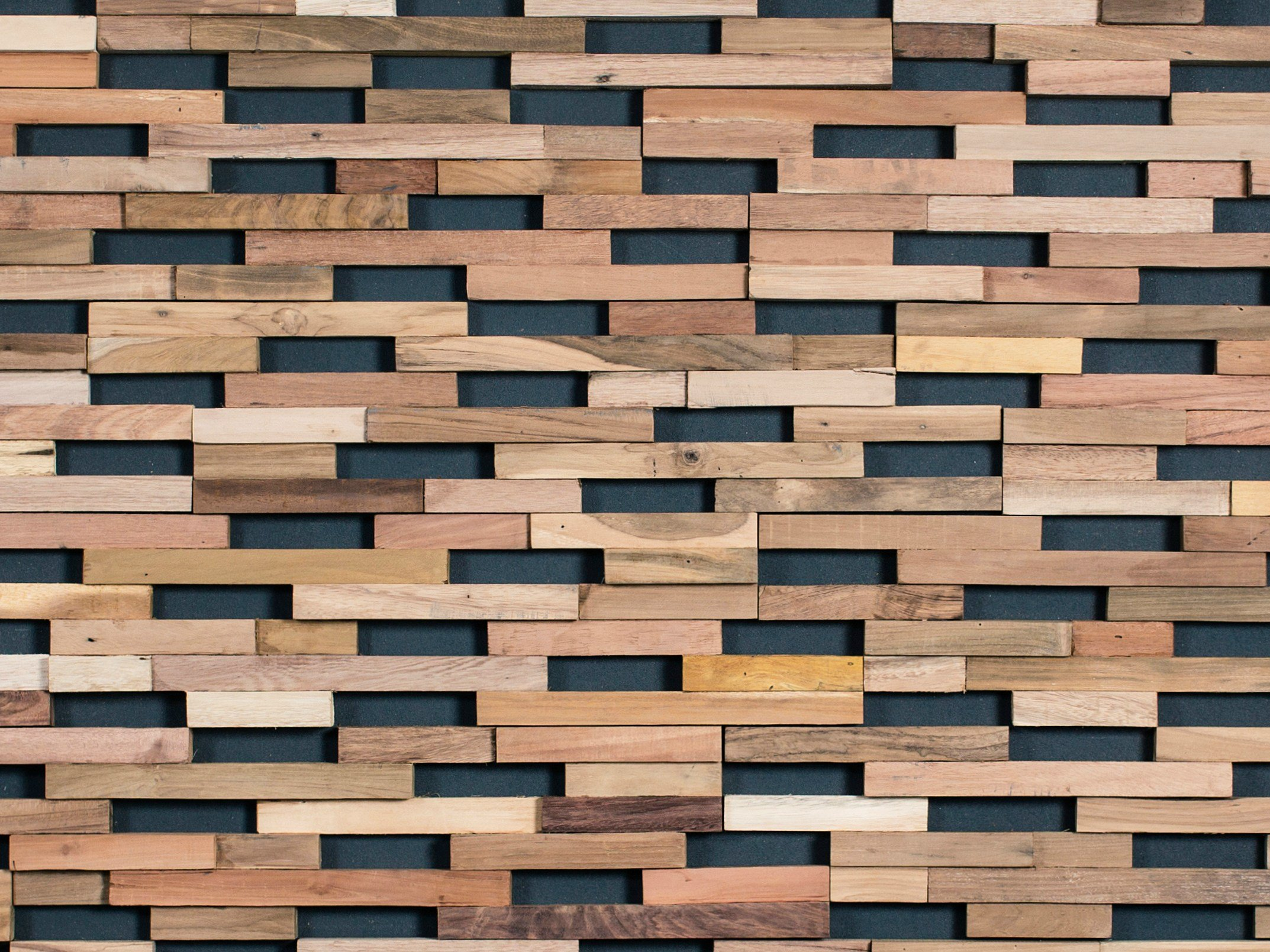 Indoor Wooden 3d Wall Cladding Springs By Wonderwall Studios