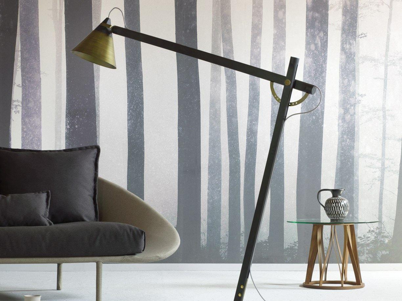 Slope Floor Lamp With Swing Arm By Miniforms Design Skrivo