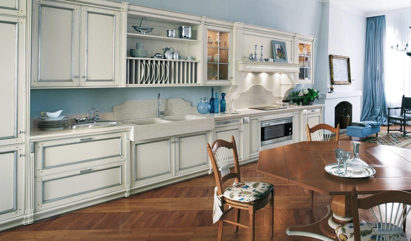 Progetti villette tradizione - Cucina stile veneziano ...