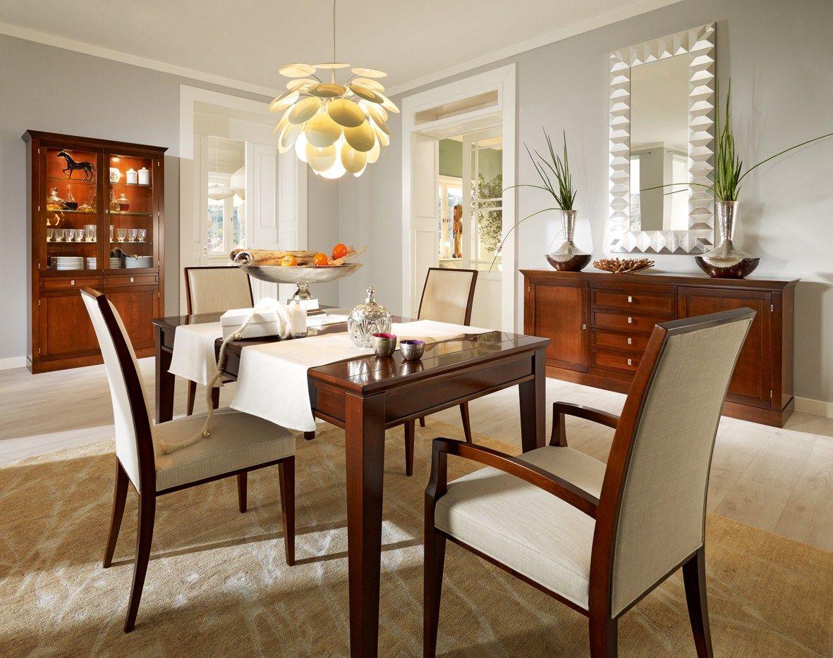 ausziehbarer rechteckiger tisch aus holz sophia by selva. Black Bedroom Furniture Sets. Home Design Ideas