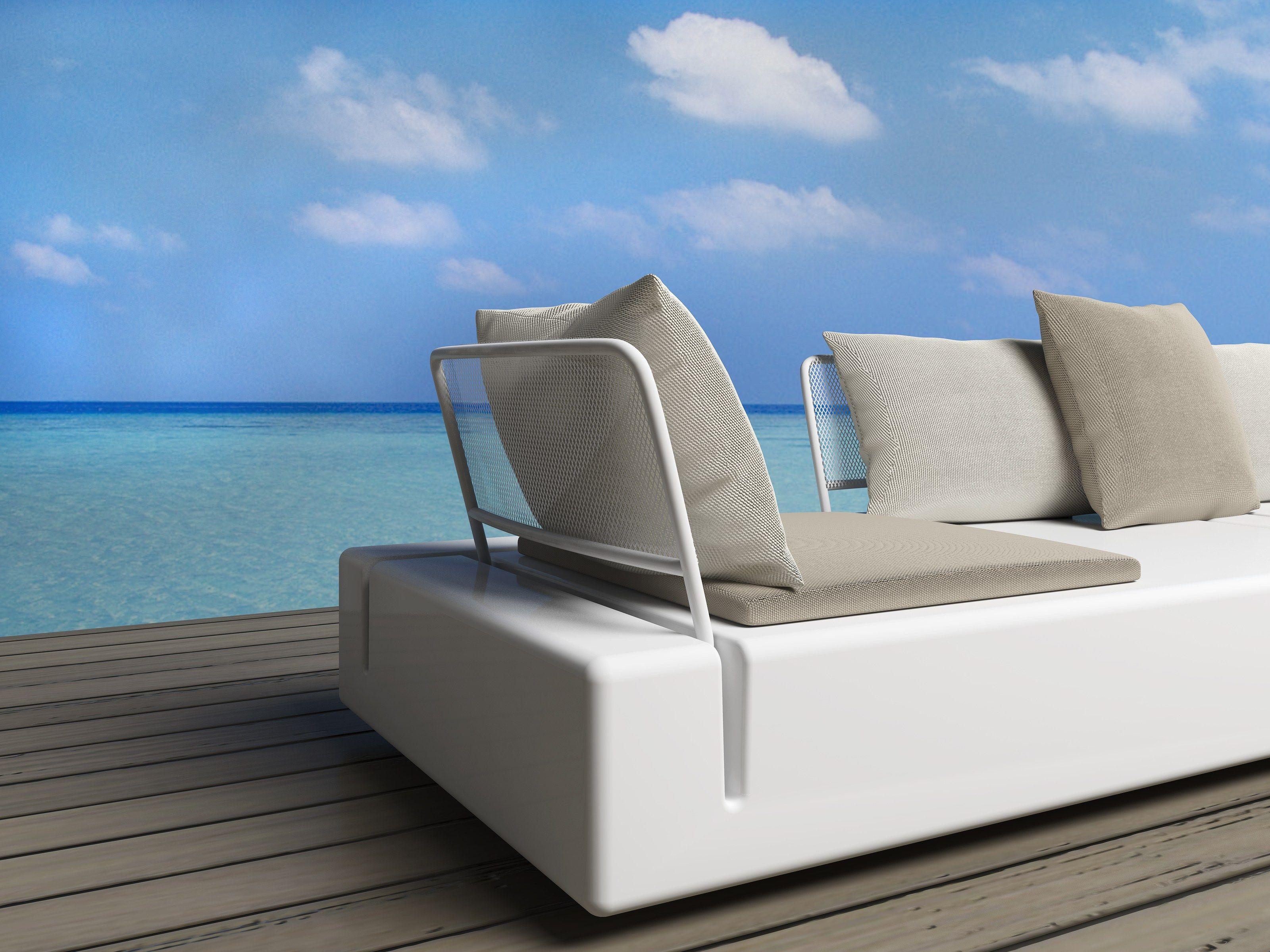 canap composable de jardin kes by vondom design buratti. Black Bedroom Furniture Sets. Home Design Ideas