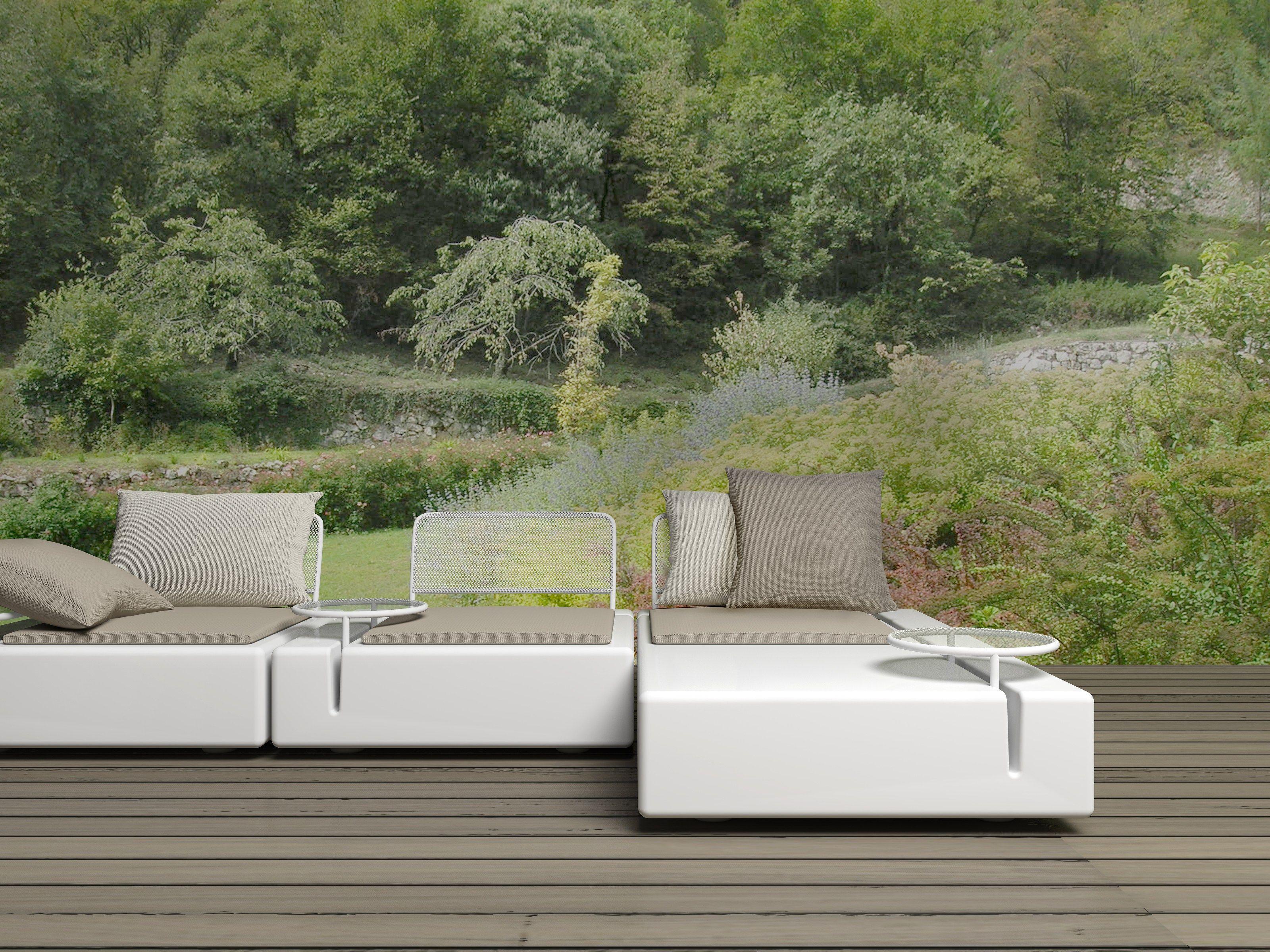 Canap composable de jardin kes by vondom design buratti - Canape de jardin design ...