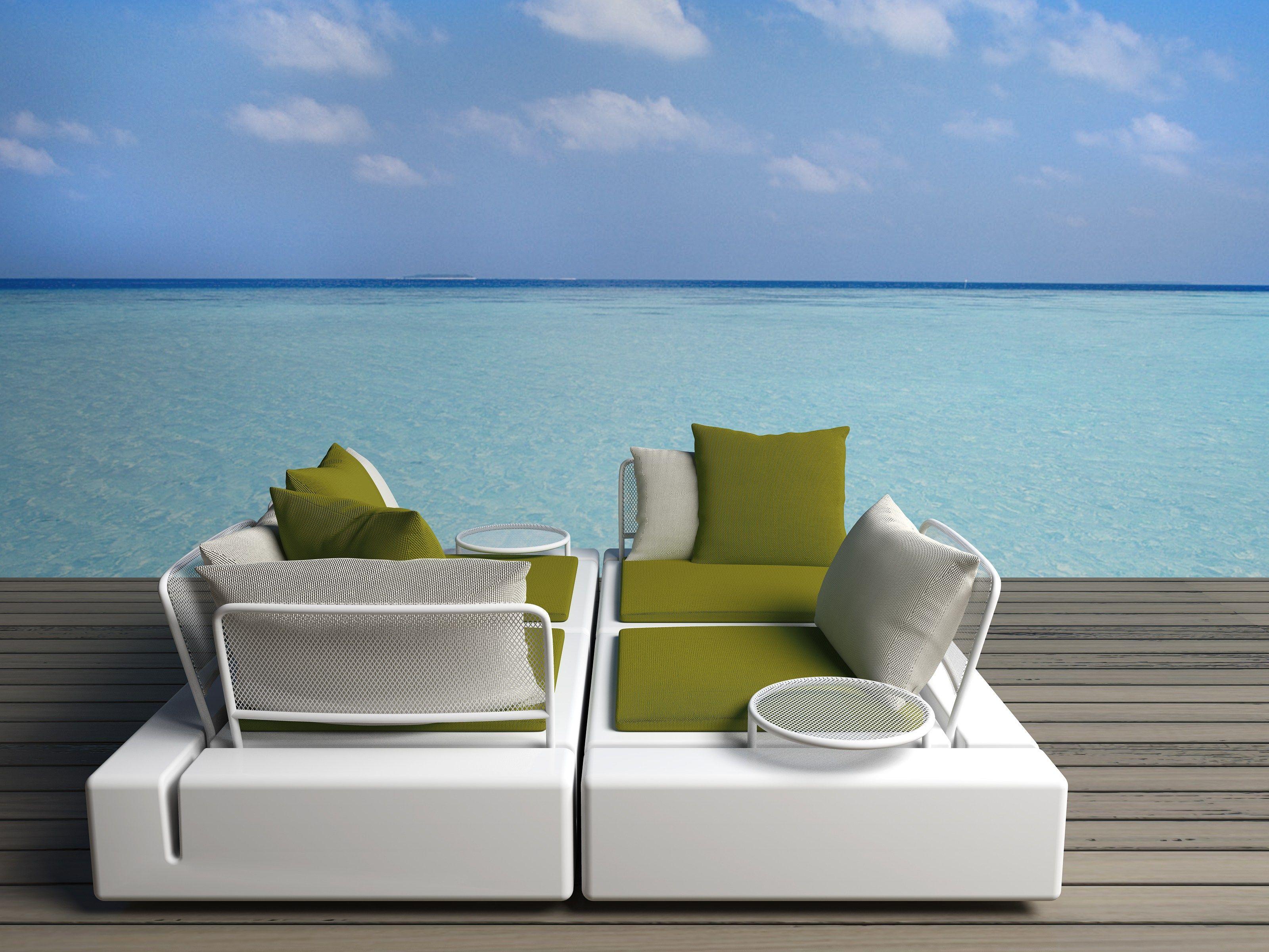 canap composable de jardin kes by vondom design buratti battiston architects. Black Bedroom Furniture Sets. Home Design Ideas