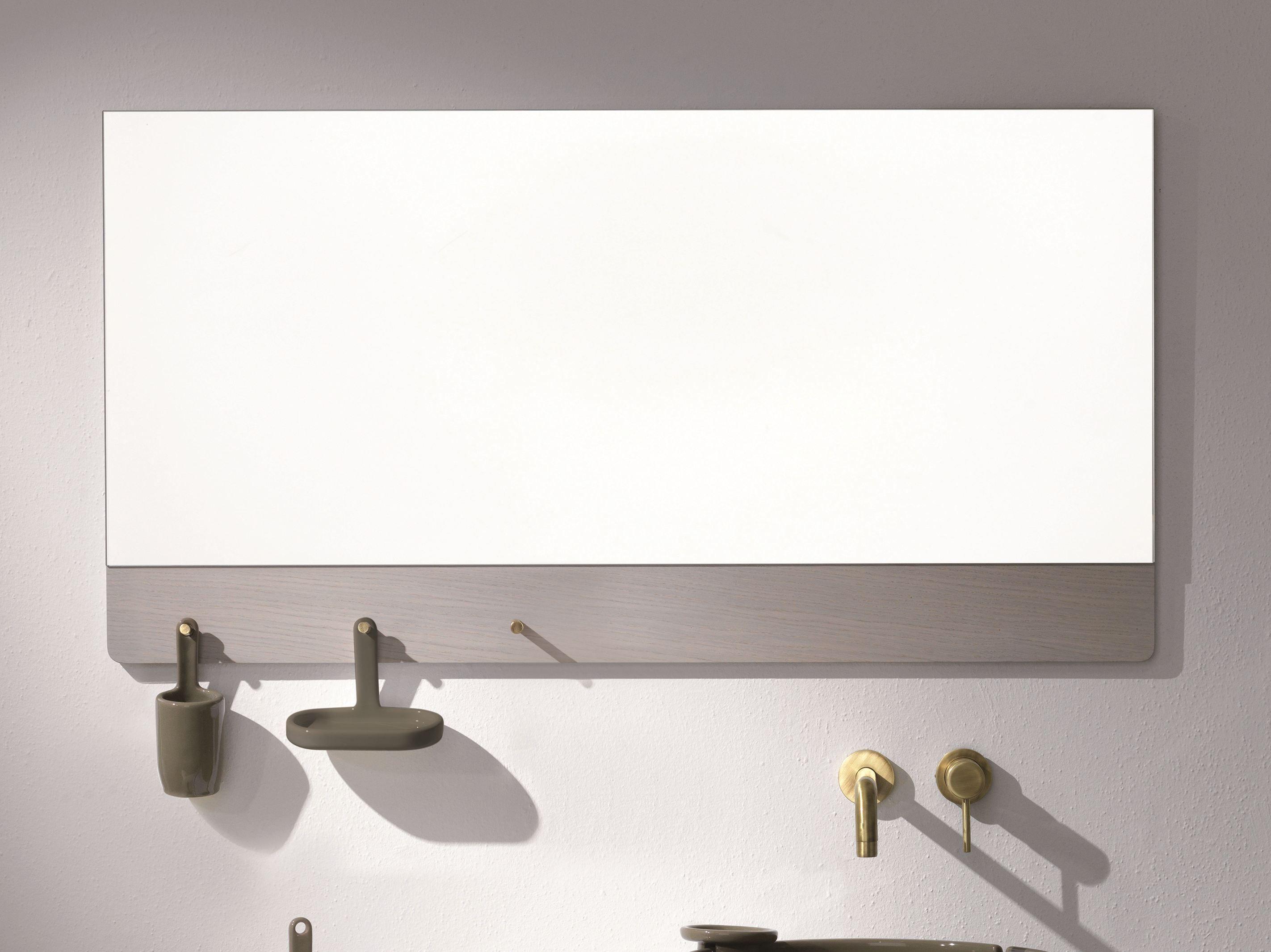Specchio per bagno ukiyo e specchio per bagno olympia ceramica - Specchio ovale per bagno ...