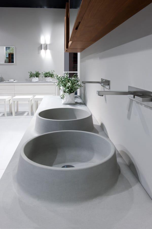 VULCANO | Hängender Waschtischunterschrank By GD Arredamenti ... | {Doppel waschtischunterschrank design 56}