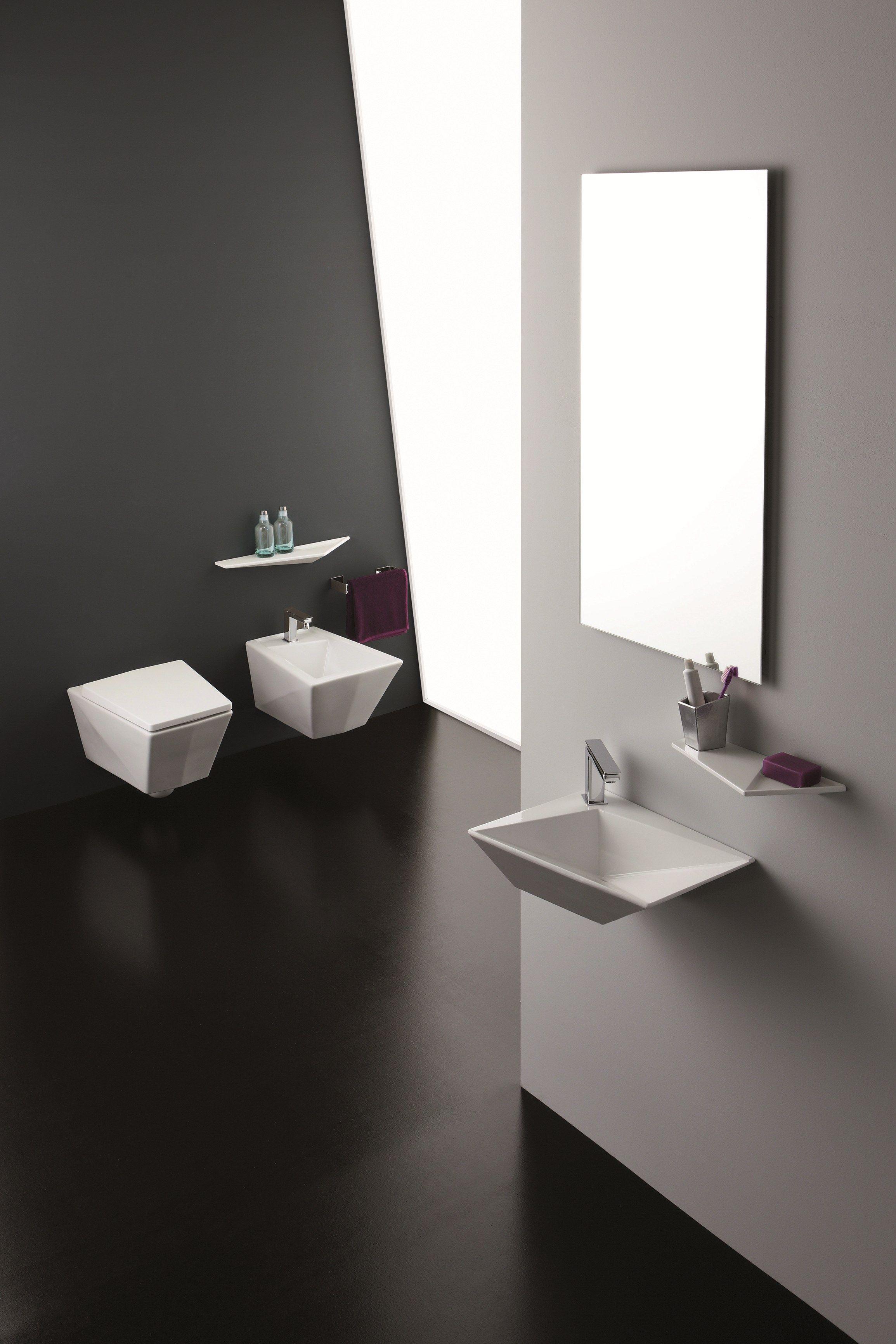 Crystal estante para cuarto de ba os by olympia ceramica - Estantes para banos ...