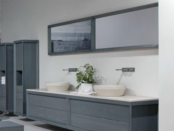 Specchio bagno rettangolare collezione baltico by dogi by for Berti arredamenti