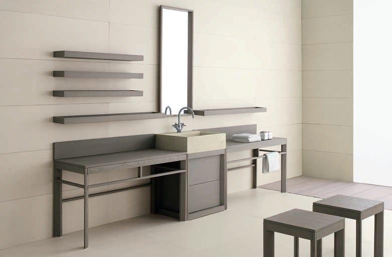 Visone sgabello per bagno by gd arredamenti design enzo berti for Berti arredamenti