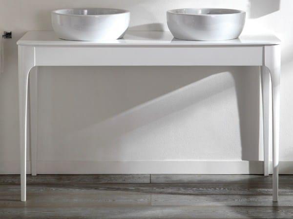 Impero consolle lavabo con cassetti by olympia ceramica for Consolle con cassetti