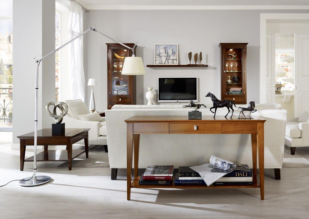 Sophia console table by selva design tiziano bistaffa for Italy design mobel