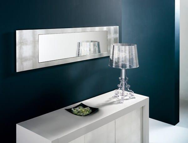 Specchio a parete con cornice ALISEI by RIFLESSI design RIFLESSI