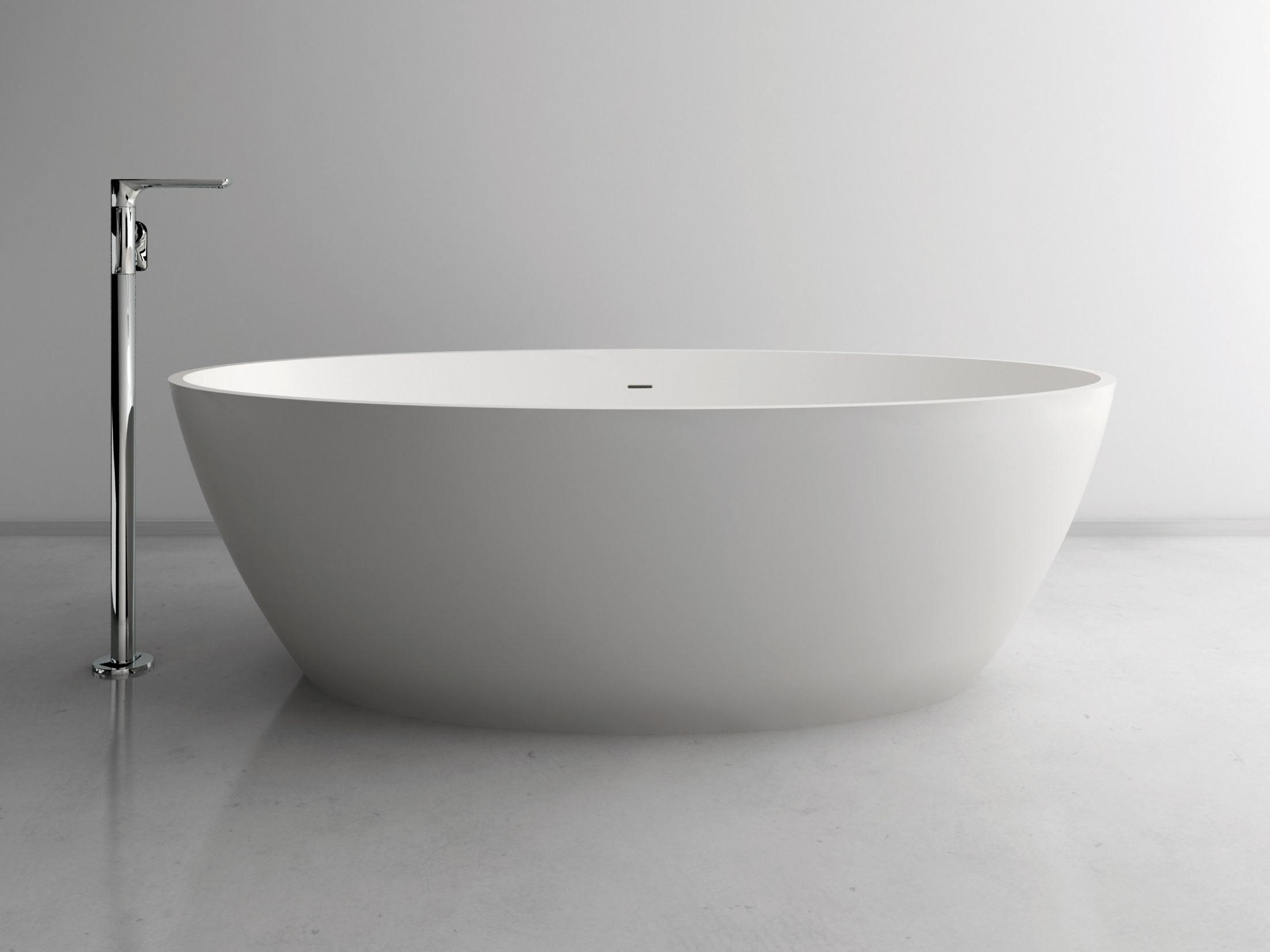 Vasca da bagno ovale ou by inbani design inbani - Vasca da bagno ovale ...