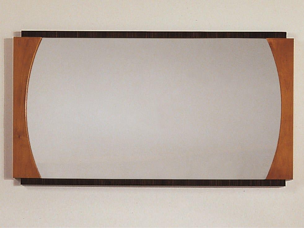 Specchio rettangolare a parete collezione biedermeier by - Parete a specchio ...