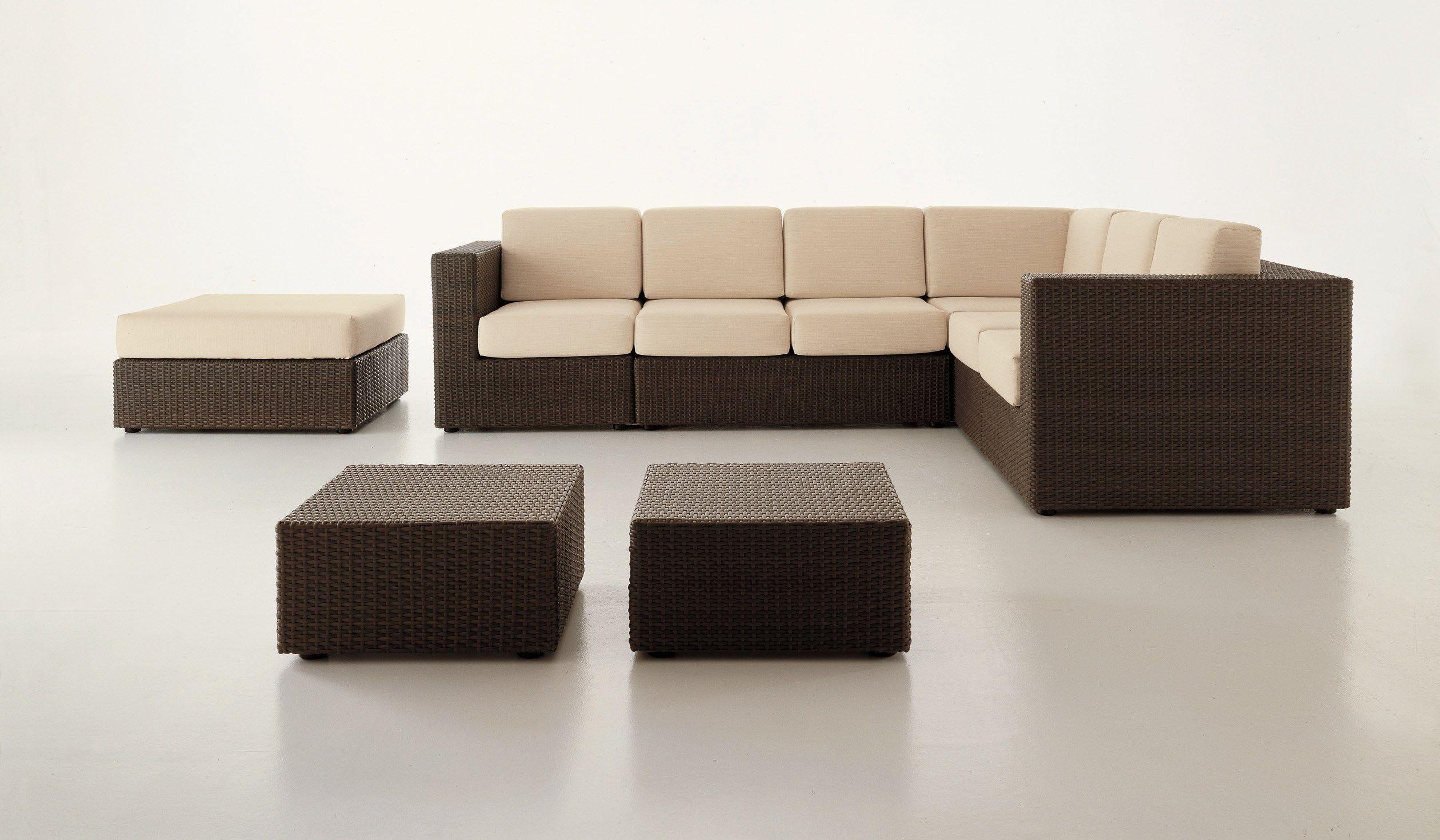 bahia pouf de jardin by dolcefarniente by dfn. Black Bedroom Furniture Sets. Home Design Ideas